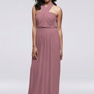 David's Bridal Multi Way Bridesmaid Dress